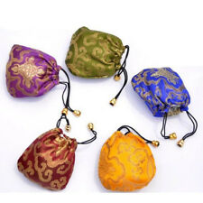 Drawstring Silk Drawstring Pouch Ethnic Style 1 Pcs Bags Embroidery Jewelry