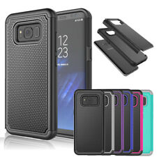 Hybrid Rugged Shockproof Rubber Hard Cover Case Skin for Samsung GALAXY S8 S7 S3