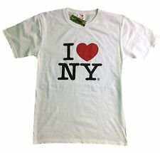 I Love Ny I Love Ny White T-Shirt Official Tee New York Screen Printed Heart ny