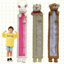 Soft Velvet Kids Height Decor Room Wall Hanging Chart Measure Care Growth