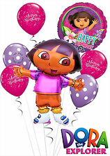 Dora The Explorer Happy Birthday Balloon Bouquet Kid's Party Decorations