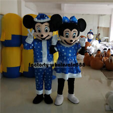 Christmas Mickey & Minnie Mouse Mascot Costume Fancy Dress Birthday party game