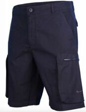 Mens Nike Woven Performance Cargo Shorts Size 30 32 34 Navy Blue 613644 475