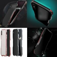 LUPHIE Aluminum Metal Bumper Frame Shockproof Case Cover W/ Tool For iPhone X 10