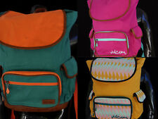 New Volcom Dropout Poly Ruck Sack Backpack Unisex Womens Gym School bag