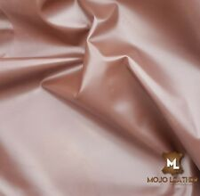 Leather Hide, Skin, BRIDDLE  BROWN NAPPA LEATHER Grade AA Leather Skin 4-6 SqFT,