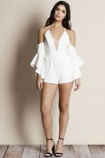 Truly Madly Deeply Cold Shoulder Romper