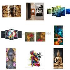 Buddha Modern Large Canvas Abstract Art Wall Decor Oil Painting Picture Unframed