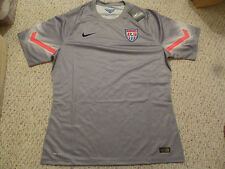 RARE NWT Nike 2014 WC USA Authentic Player Issued Gray Goal Keeper Jersey Medium