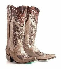 NEW DOUBLE D RANCH SIZE 9, BRAVE EAGLE BOOTS / WESTERN COWGIRL COWBOY