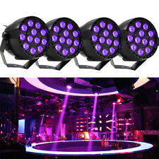 3W*12/36/54LED RGB Stage Lighting Effect DMX512 Flat Par Lamp For Glow DJ Party