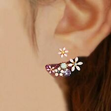 Fashion Imitation Pearl Earrings Small Daisy Flowers Hanging After Senior Flower