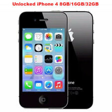 "Original Apple iPhone 4 3.5"" IPS 8GB/16GB/32GB 3G WIFI 5.0MP Unlocked Smartphone"