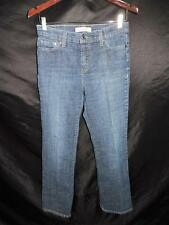 Levi's 8 512 Boot Cut Blue Jeans Mid Rise Perfectly Slimming Denim Levi Strauss