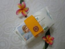 Nappy strap-Keeps nappies and wipes together-Gold-100% cotton or polycotton.