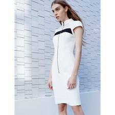 BNWT CUE Block contrast panel dress Sz 8 14 RRP$269