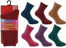NEW LADIES 4.7 TOG EXTRA THICK WARM BRUSHED HEAT MANIA INSULATED THERMAL SOCKS