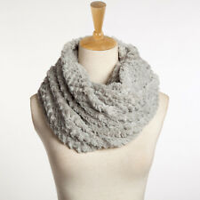 Infinity Scarf Womens Winter Warm Circle Cable Knit Cowl Neck Long Scarf Shawl