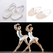 Half PULeather Sole ballet pointe Dance Shoes Rhythmic Gymnastics SlippersWF