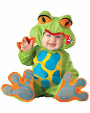 Lil Froggy Frog Animal Deluxe Toddler Baby Boys Infant Costume