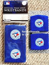 TORONTO BLUE JAYS OFFICIAL WRISTBANDS Baseball Sweatbands Schweissband Canada