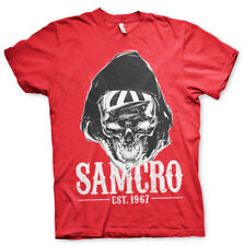 Officially Licensed Sons of Anarchy- SAMCRO Dark Reaper Mens T-Shirt S-XXL Sizes