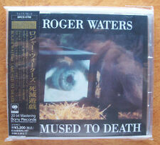 ROGER WATERS/PINK FLOYD GOLD JAPAN SRCS AMUSED TO DEATH PLAYED ONLY TWICE