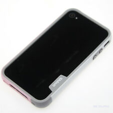 Fashion Bi-colour Silicone Rubber TPU Frame Bumper Case For Apple iPhone 4 4S