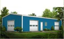 Steel Buildings - 27' Wide Metal Buildings FREE Shipping, Local Installation ava