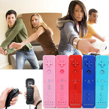 2* Built in Motion Plus Remote Nunchuck Controller Set For Nintendo Wii U WII AU