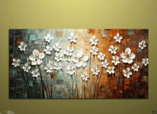 Oil painting flower Bedroom  Abstract Modern Art Canvas Wall Parlor  (no framed)