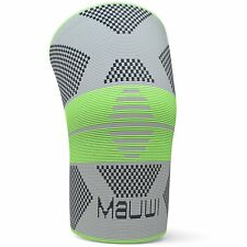 Knee Brace by Mauwi - Compression Knee Support Sleeve for Running Sports Fitness