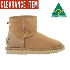 Ultra Short Classic Chestnut- Ugg Boots Sheepskin Memory Foam Made in Australia