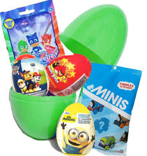 Giant Surprise Egg 8'' Christmas Present With PJ Masks & Thomas Minis Blind Bags