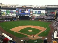 1-4 Miami Marlins @ Milwaukee Brewers 2018 Tickets 4/21/18 Sec 422 Miller