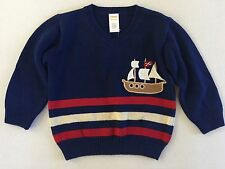 Baby Boy's Infant Gymboree Pirate Ship Pullover Sweater