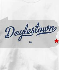Doylestown, Bucks County, Pennsylvania PA MAP T Shirt All Sizes & Colors