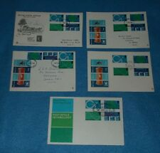 FIRST DAY COVERS POST OFFICE TECHNOLOGY 1.10.1969 VARIOUS POSTMARKS SELECT COVER