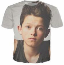 Funny 3D Print Casual Short Sleeve Graphic Tee Cool Jacob Sartorius T-Shirt AE