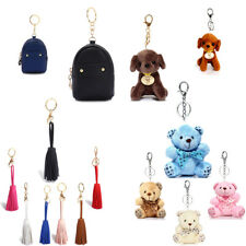 Women's Tassel Keychain Bag Charms Ladies Teddy Bear Charms Keyring New Style