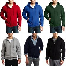 Russell Athletic Men's Dri Power Full Zip Fleece Hoodie Plus Size Size S - 3XL