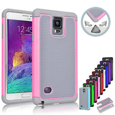 Hybrid Rugged Shockproof Rubber Hard Cover Case for Samsung GALAXY S5 S4 Note 3
