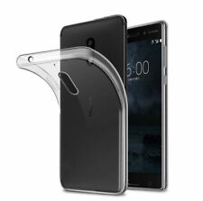 Full Protective Ultra Slim Clear Soft TPU Silicone Cover Case For Nokia Series