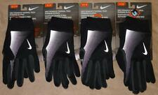 Nike Women's Thermal Tech Running Gloves, S/M/L Black - Therma-FIT - NWT!