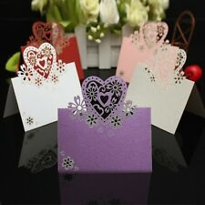 Wedding Decoration Christmas Cards Name Number Place Guest Table Love Heart