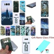 Fashion SOFT RUGGED TPU Silicone 1.2mm Back Case Cover For Samsung Galaxy Models