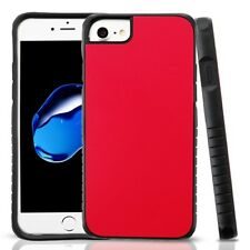 Red Black Dual Layer Hybrid PC/TPU Protector Cover Phone Case Apple iPhone 8/7