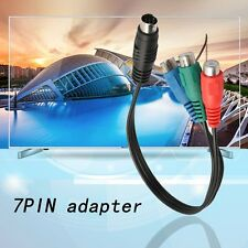 S-Video to 3 RCA RGB Component TV HDTV Cable Connect Your Laptop to HDTV OE
