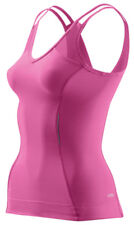 Skins A200 Women's Compression Tank Top - Pink - Extra Small Size