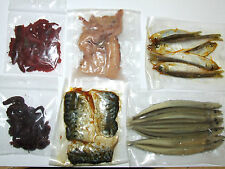 FFT PRESERVED SEA PIKE BAIT SQUID WHITE BAIT RAGWORM LUG SANDEEL MACKEREL